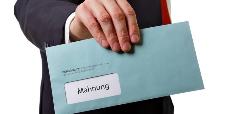 Mahnwesen Mahnungen Ordnungsgemäß Stellen Foerderland