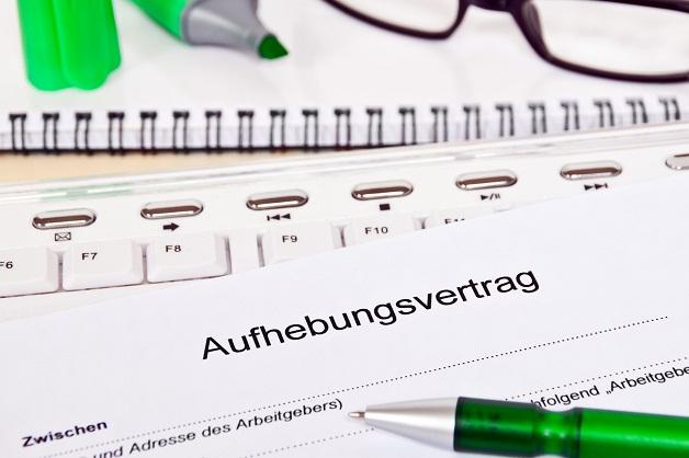 Aufhebungsvertrag Mit Gratis Muster Förderland