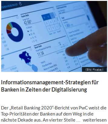 Informationsmanagement-Strategien für Banken in Zeiten der Digitalisierung