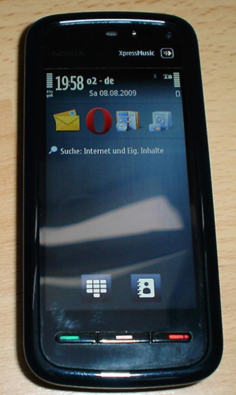 Test Nokia 5800 XM: Hardware und Leistung