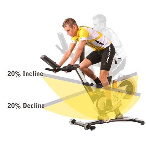 Pro-Form Le Tour De France Indoor Cycling Bike: Mitradeln