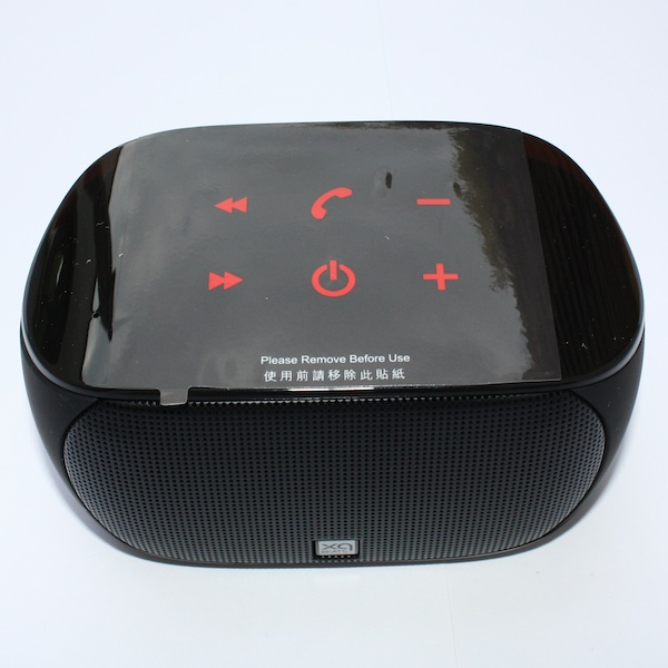 xqisit xqbeats bluetooth lautsprecherbox im test so klein. Black Bedroom Furniture Sets. Home Design Ideas