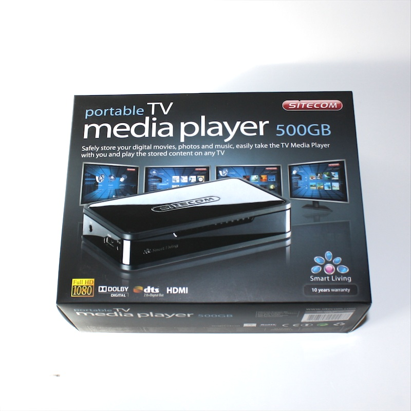 sitecom portable tv media player md 271 im test 1 2 die. Black Bedroom Furniture Sets. Home Design Ideas