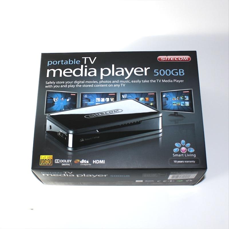Sitecom portable tv media player md 271 im test 1 2 die mobile mediathek foerderland - Tv und mediamobel ...