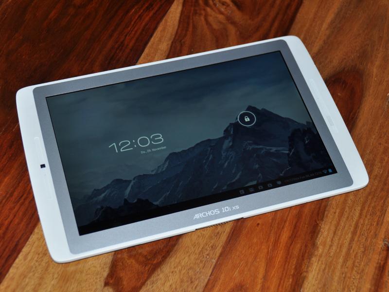 archos 101 xs 10 zoll android tablet mit tastatur im test. Black Bedroom Furniture Sets. Home Design Ideas