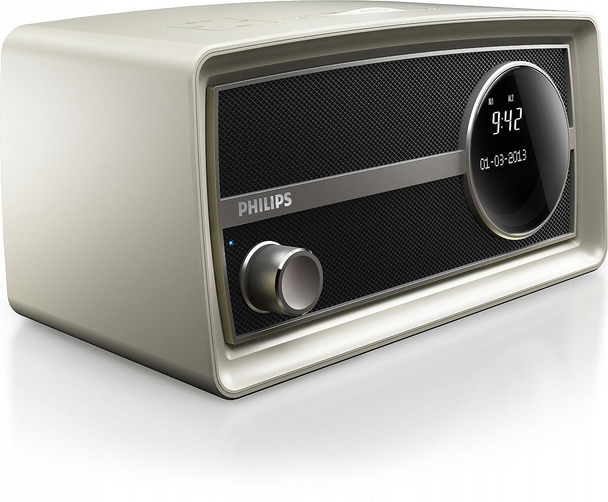 philips original radio retro radiowecker mit bluetooth. Black Bedroom Furniture Sets. Home Design Ideas