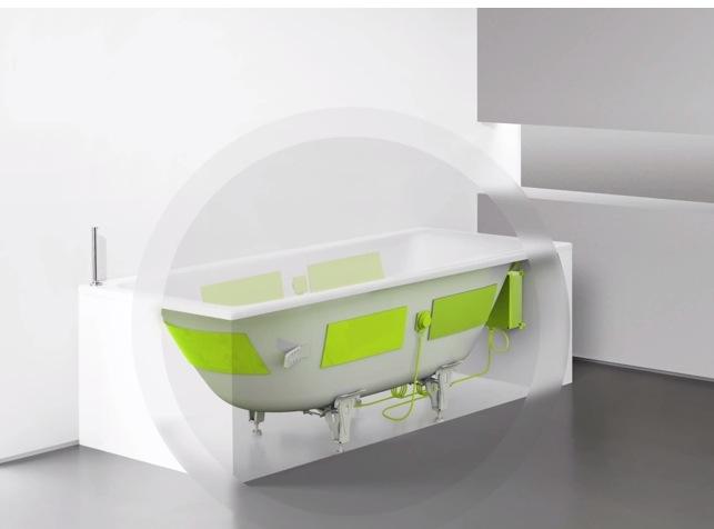 kaldewei soundwave die badewanne als bluetooth. Black Bedroom Furniture Sets. Home Design Ideas