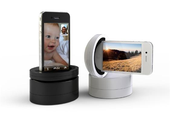 galileo schwenkbares iphone dock mit fernsteuerung f rderland. Black Bedroom Furniture Sets. Home Design Ideas