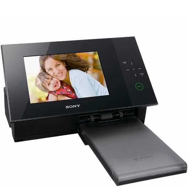 sony dpp f700 digitaler bilderrahmen mit eingebautem fotodrucker f rderland. Black Bedroom Furniture Sets. Home Design Ideas
