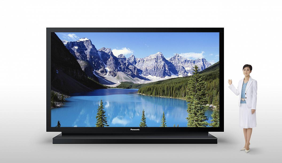 panasonic zeigt auf ces 150 zoll tv fernseher erschlug million r f rderland. Black Bedroom Furniture Sets. Home Design Ideas