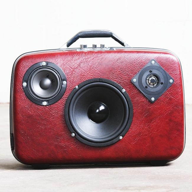 koffer lautsprecher