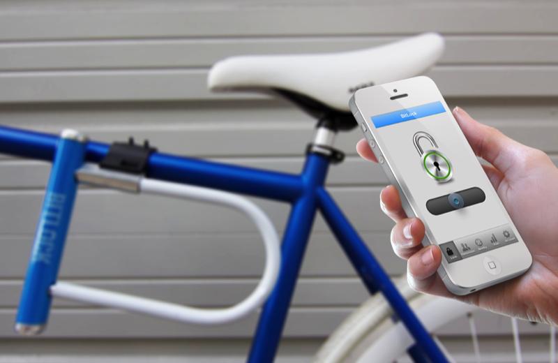bluetooth fahrradschloss
