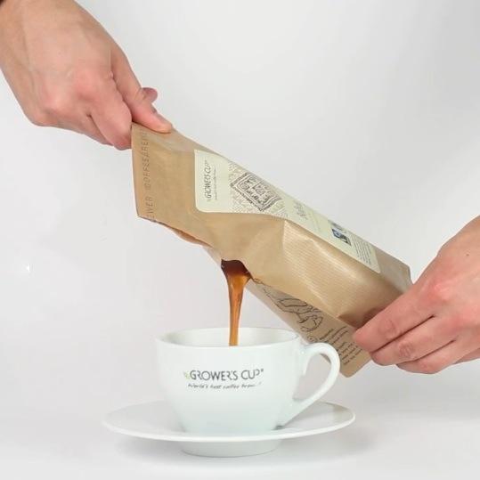 Growers Cup Coffeebrewer Einmal Kaffeemaschine Für Outdoor Fans
