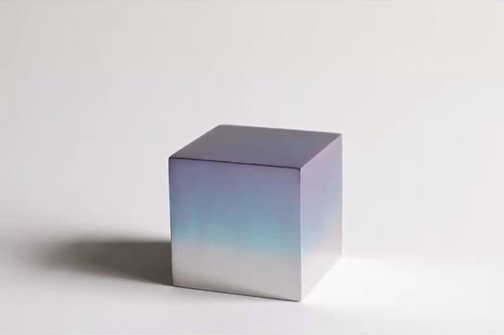 cube ein aluminiumw rfel und andere revolution re. Black Bedroom Furniture Sets. Home Design Ideas