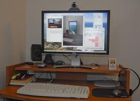 test dell ultrasharp 2407wfp 24 zoll monitor f rderland. Black Bedroom Furniture Sets. Home Design Ideas