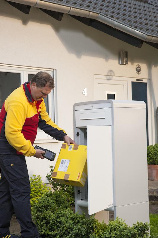 Briefe Verschicken Mit Hermes : Für pakete statt briefe der dhl paketkasten könnte den