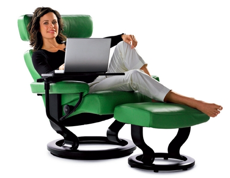 test ekornes stressless bequemsessel sessel f r video und notebook foerderland. Black Bedroom Furniture Sets. Home Design Ideas