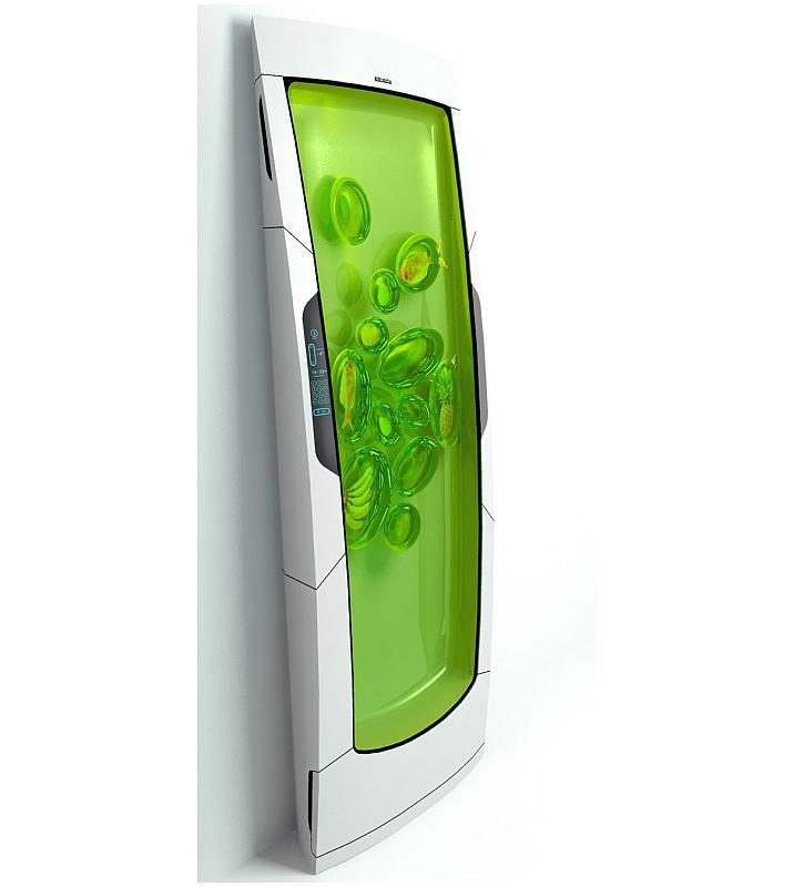 Electrolux bio robot kuhlschrank der zukunft foerderland for Kühlschrank 60er design