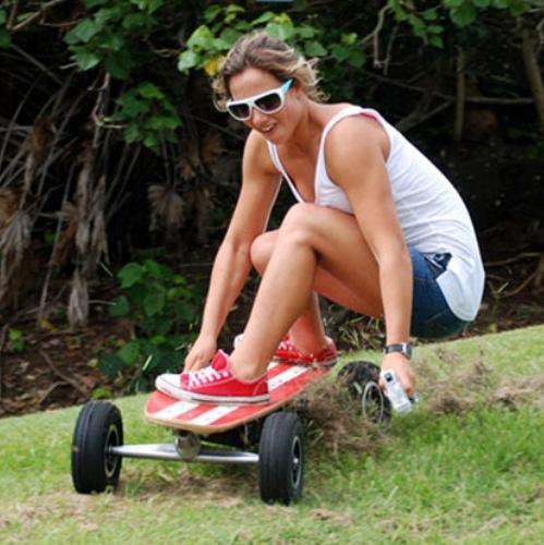 Fiik Elektrisches Skateboard Longboard Mit Motor Und