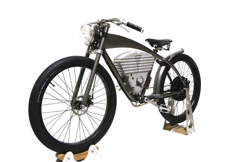 icon e flyer electric bike schnelles elektrofahrrad im retrodesign f rderland. Black Bedroom Furniture Sets. Home Design Ideas