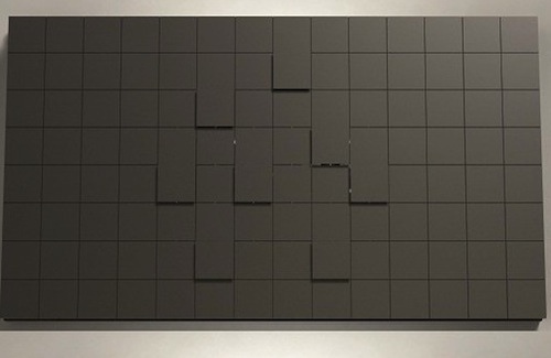 Illi digitaluhr art du temps teurer minimalismus f rderland - Design wanduhr ...