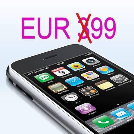 iphone f r 99 euro bei t mobile usa ausverkauft de im ausverkauf f rderland. Black Bedroom Furniture Sets. Home Design Ideas