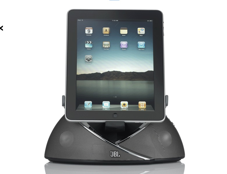 jbl on beat lautsprecher dock sound f r ipod iphone und ipad f rderland. Black Bedroom Furniture Sets. Home Design Ideas
