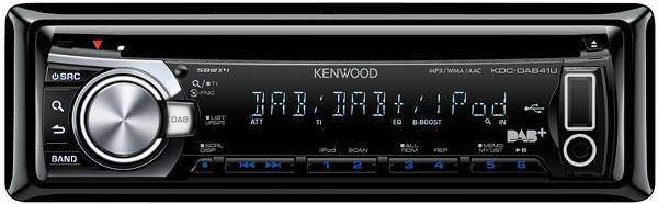 kenwood autoradio kdc dab41u im test 1 dab im auto. Black Bedroom Furniture Sets. Home Design Ideas