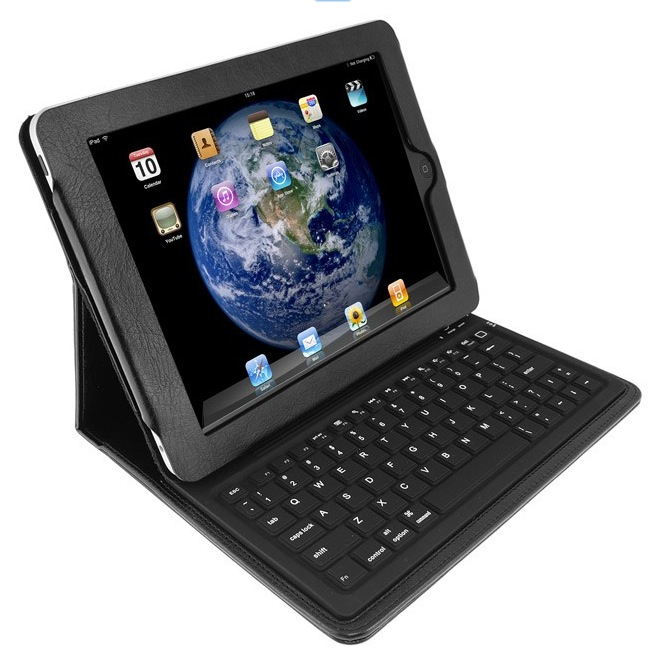keycase ipad folio ipad h lle mit bluetooth tastatur. Black Bedroom Furniture Sets. Home Design Ideas