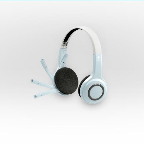 logitech wireless headset h r 39 mal wer da spricht ganz. Black Bedroom Furniture Sets. Home Design Ideas