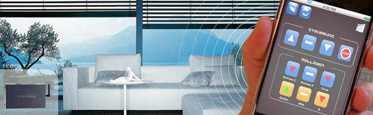 telefunken mediola das haus per smartphone steuern f rderland. Black Bedroom Furniture Sets. Home Design Ideas