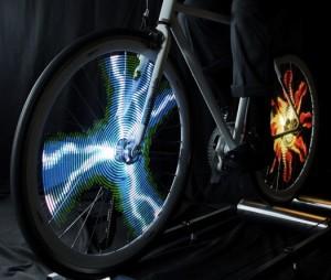 monkey light pro wenn fahrrad speichen zu displays werden. Black Bedroom Furniture Sets. Home Design Ideas
