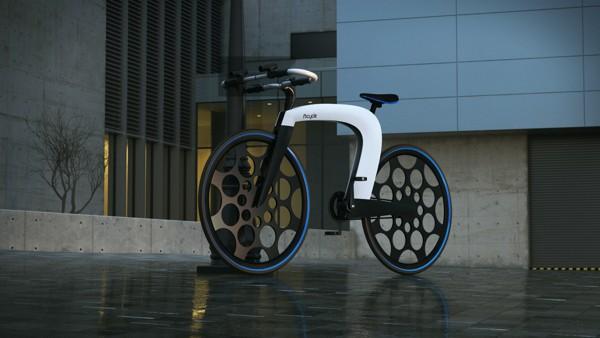 ncycle concept faltbares e bike im futuristischen design. Black Bedroom Furniture Sets. Home Design Ideas