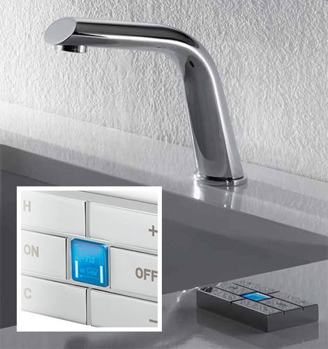 Der Elektronische Wasserhahn Von Newform Soll Endlich Auch Im Bad High Tech  Durchsetzen. Ist Das Wirklich Nötig?
