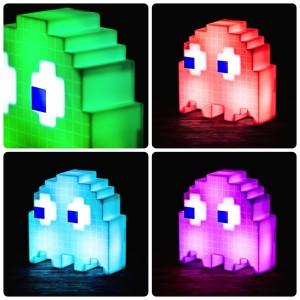 Pac Man Geist Lampe Farbwechselnder Klassiker Für Gaming