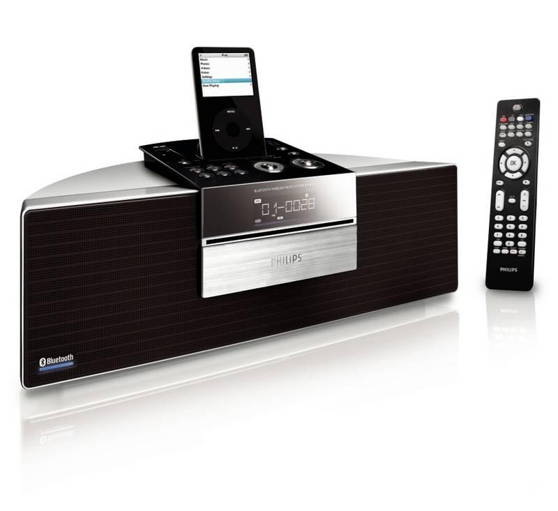 philips btm630 bluetooth cd player mit docking foerderland. Black Bedroom Furniture Sets. Home Design Ideas