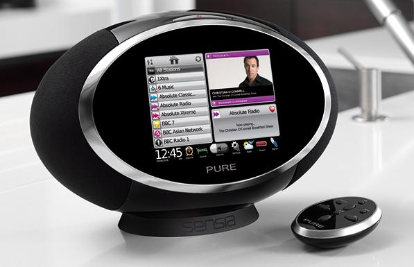 pure sensia radio f r facebook und twitter fans f rderland. Black Bedroom Furniture Sets. Home Design Ideas