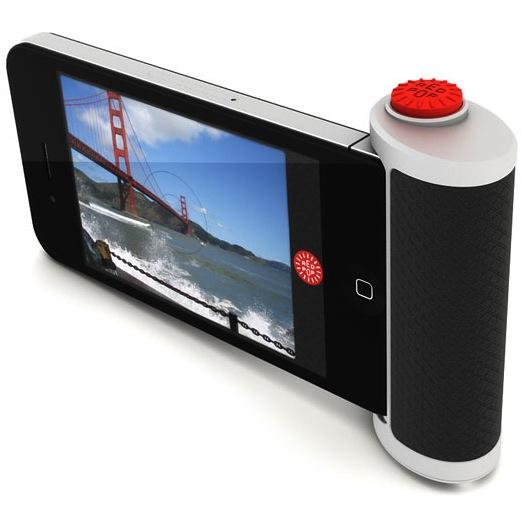 red pop kameragriff das iphone als schnappschusskamera f rderland. Black Bedroom Furniture Sets. Home Design Ideas