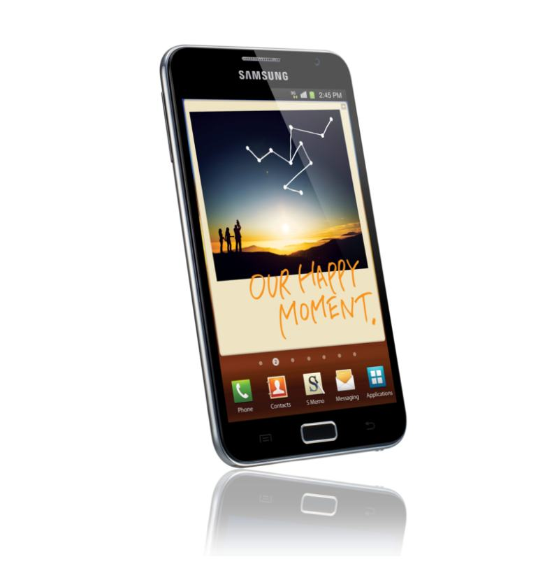 samsung galaxy note smartphone und notizblock f r riesen. Black Bedroom Furniture Sets. Home Design Ideas