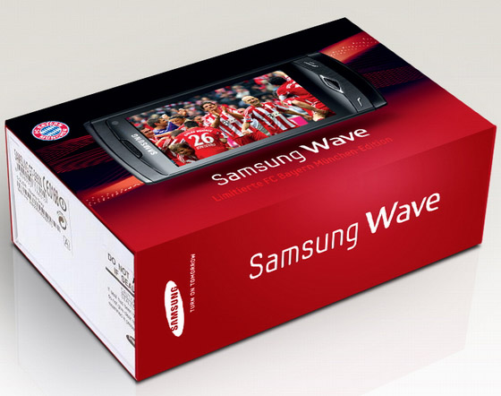 samsung wave s8500 fc bayern m nchen edition kleines gl ck f r bayern fans f rderland. Black Bedroom Furniture Sets. Home Design Ideas
