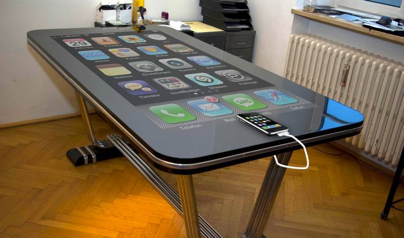 Iphone tisch fake oder nicht f rderland for Tisch iphone design
