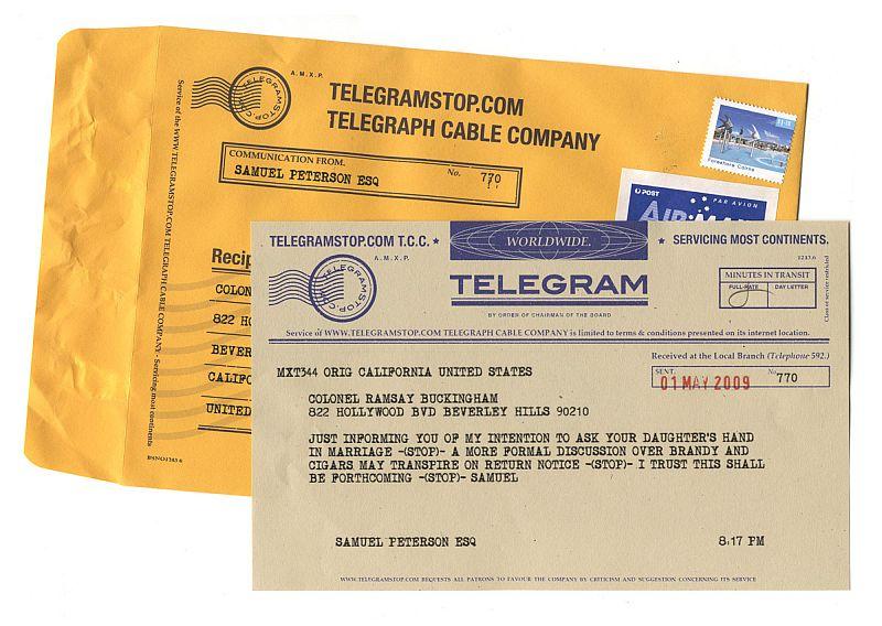 telegram stop sag es auf die altmodische art f rderland. Black Bedroom Furniture Sets. Home Design Ideas