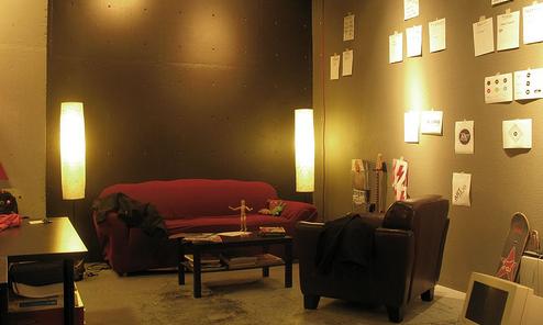 der link am morgen sieht aus wie eine disco ist aber. Black Bedroom Furniture Sets. Home Design Ideas