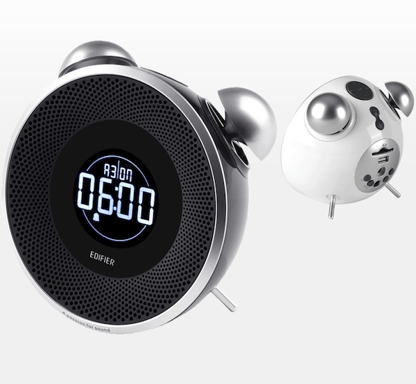 edifier tick tock sd usb fm radio retro wecker und mp3 player f rderland. Black Bedroom Furniture Sets. Home Design Ideas
