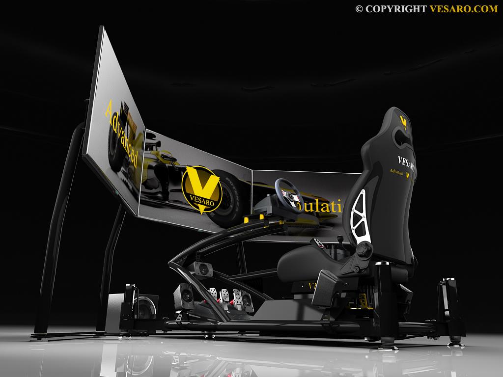Vesaro Motion Racing Simulator: Die ultimative Spielemaschine