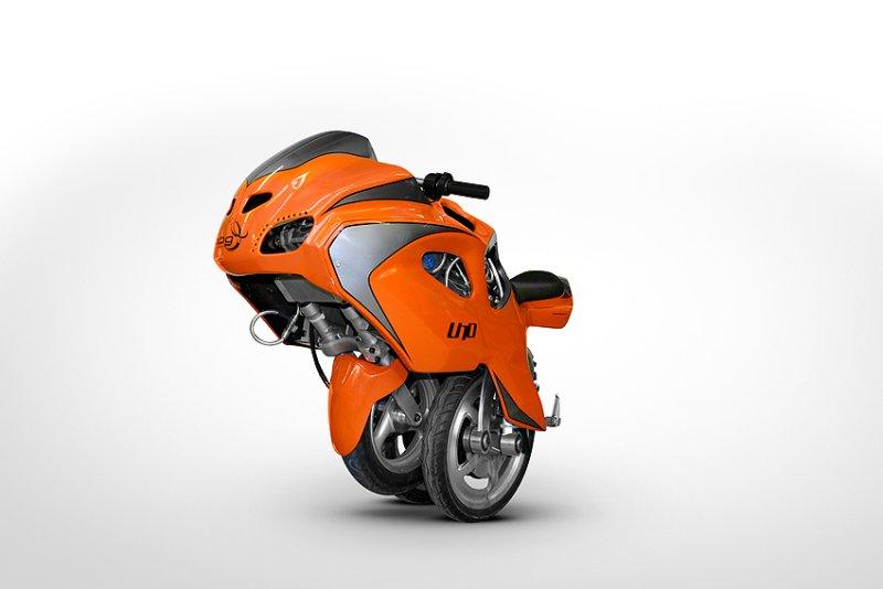 uno iii transformer motorrad in gr n f rderland. Black Bedroom Furniture Sets. Home Design Ideas