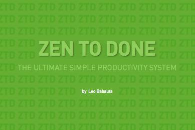 zen to done teil 12 gewohnheit 9 routinen f rderland. Black Bedroom Furniture Sets. Home Design Ideas