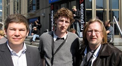 Drei Fünftel des Vorstands der AGSM: Benedikt Köhler, Heiko Ditges und Richard Joerges