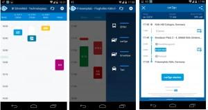 Allryder auf einem Android-Smartphone