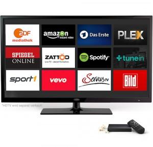 Amazon Fire TV: Apps und Mediathek, aber kein Live-TV.